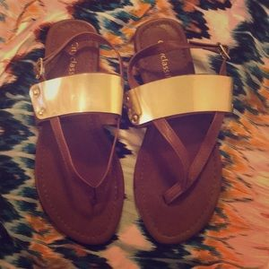 Like New City Classified Sandals—Size 6